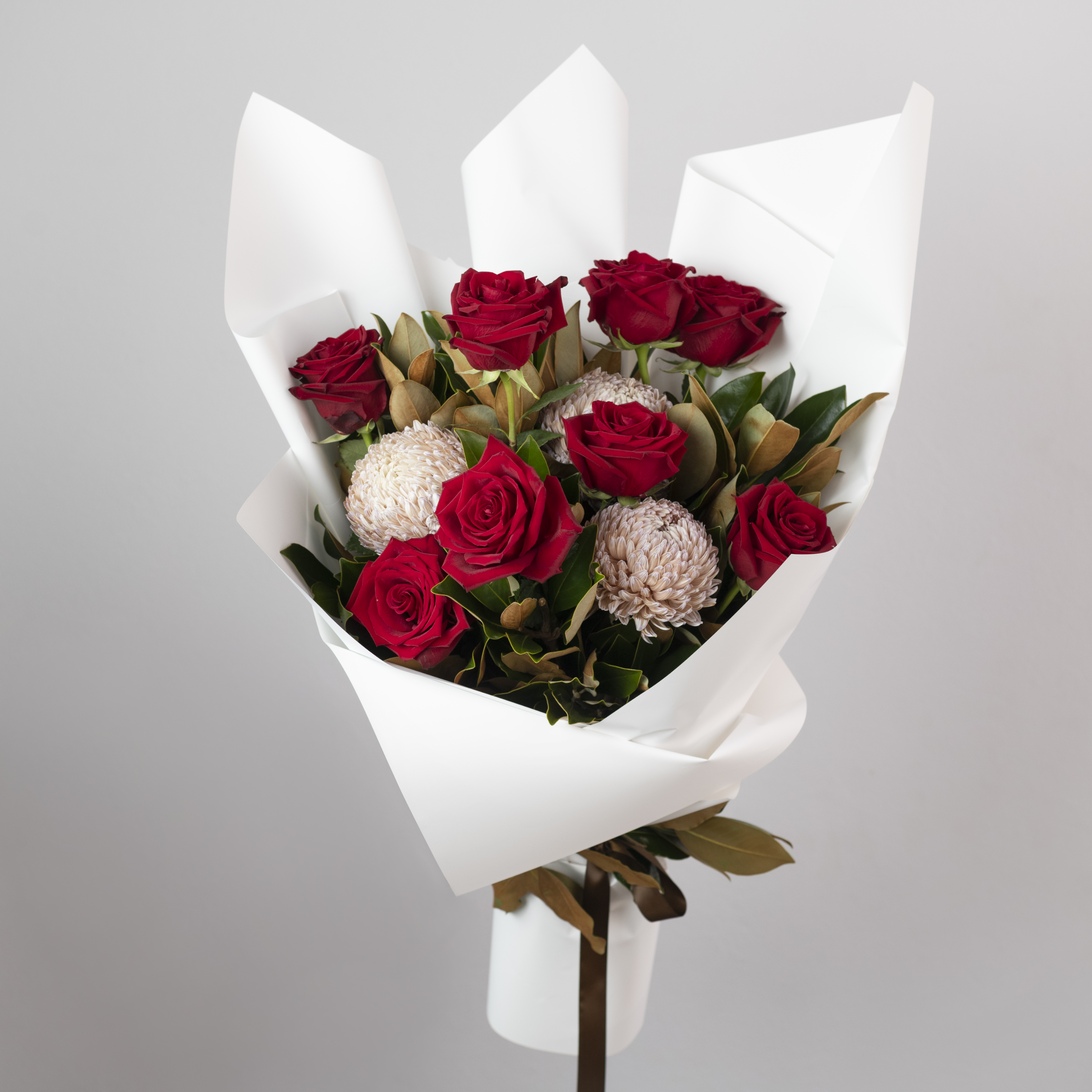 Ruby Red Rose Bouquet